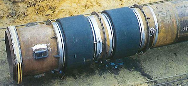 coussin torique gonflable pour réparation de pipeline