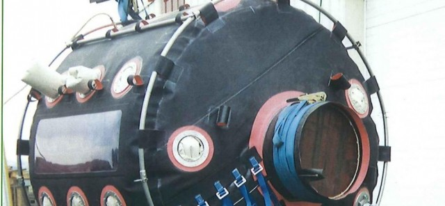 chambre de soudure sur mesure pour travaux sous marin