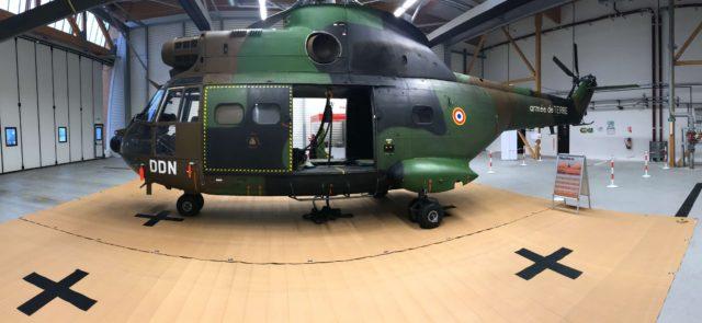 Aire de poser hélicoptère nomade Amélioration traficabilté aéronef