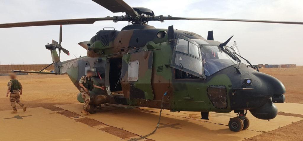Helipad - aire de poser pour hélicoptère