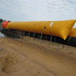 Flotteurs gonflables travaux maritime