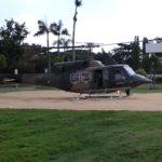 Aire de poser hélicoptère nomade