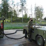 Citerne souple stockage carburant
