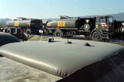 Cuve souple stockage fuel