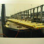 Flotteur gonflable manutention maritimes