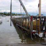 Flotteur gonflable travaux maritime