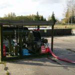 Groupe transfert carburant militaire