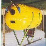 Parachute levage fermé