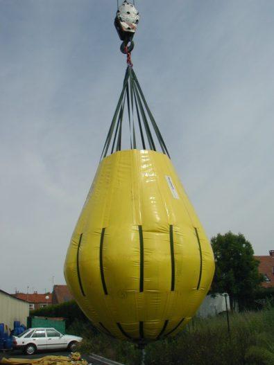 Parachute relevage ouvert