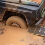 Plaque désensablement camion