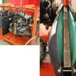 Vérin pneumatique souple calage moteur